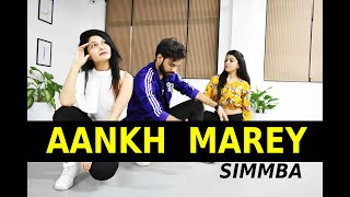 Aankh Marey - Simba | Ranveer Singh | Sara Ali Khan | FITNESS DANCE With RAHUL