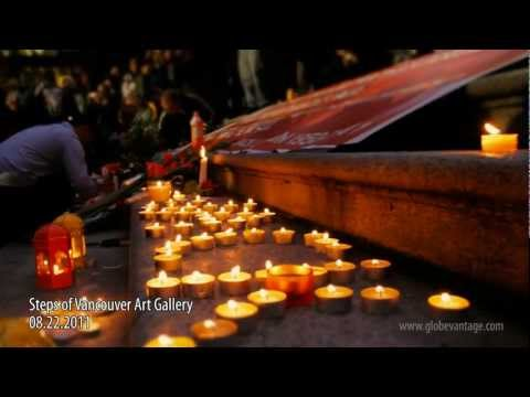 Jack Layton Memorial at Vancouver Art Gallery: A Moving Tribute