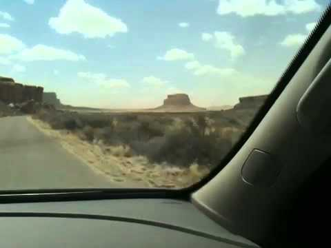 Driving Into Chaco