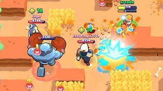 600 IQ Maple Barley vs Bo and Tick I Brawl Stars Wins & Fails