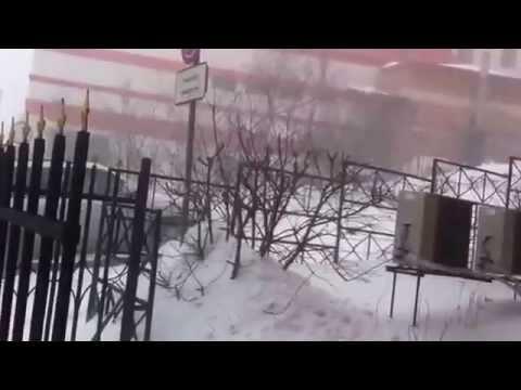 Владивосток ДЖИП метель гололед Жесть 04.03.15