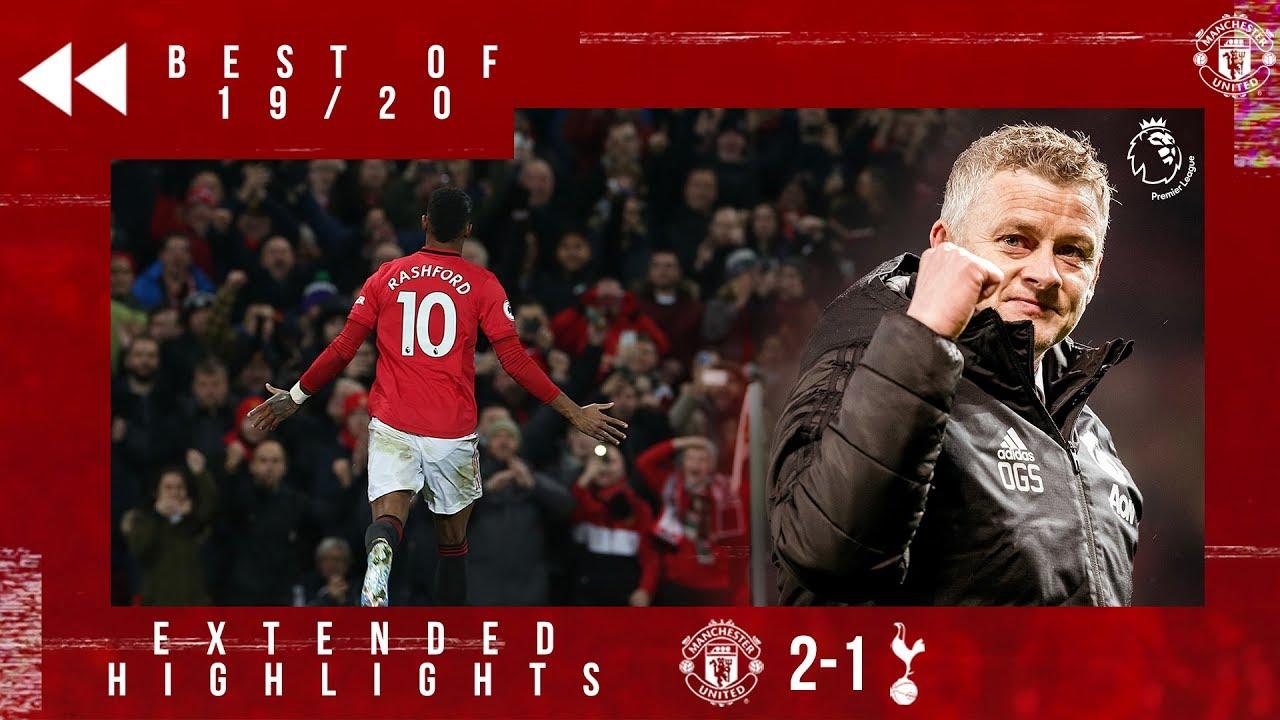 Download Best of 19/20 | Rashford double sinks Spurs | Manchester United 2-1 Tottenham
