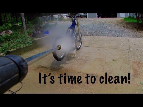 YZ125 Build | Washing and Cleaning