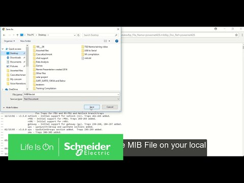 How To Load PowerNet MIB 4.2.6 Using MIB Browser   Schneider Electric