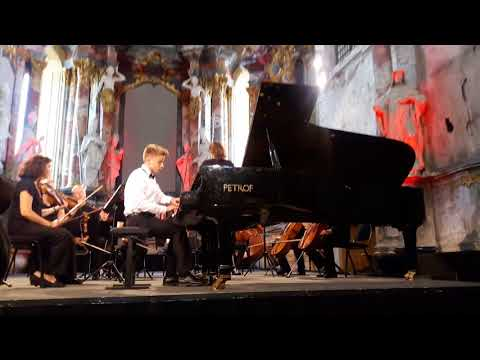 Yurij Polunin piano concertino in a minor with string orchestra