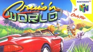 Classic Game Room - CRUIS'N WOŔLD review for N64