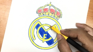 Famous football club logos | Drawn by Hand.
