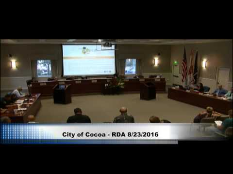 City of Cocoa Council Meeting
