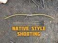 How to Shoot a Bow Southern California Indian Style