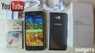 тест - обзор Смартфона SAMSUNG Galaxy Grand Prime Duos SM-G531H Gold