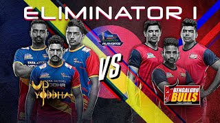 Pro Kabaddi 2019 Eliminator Highlights |  UP Yoddha vs Bengaluru Bulls
