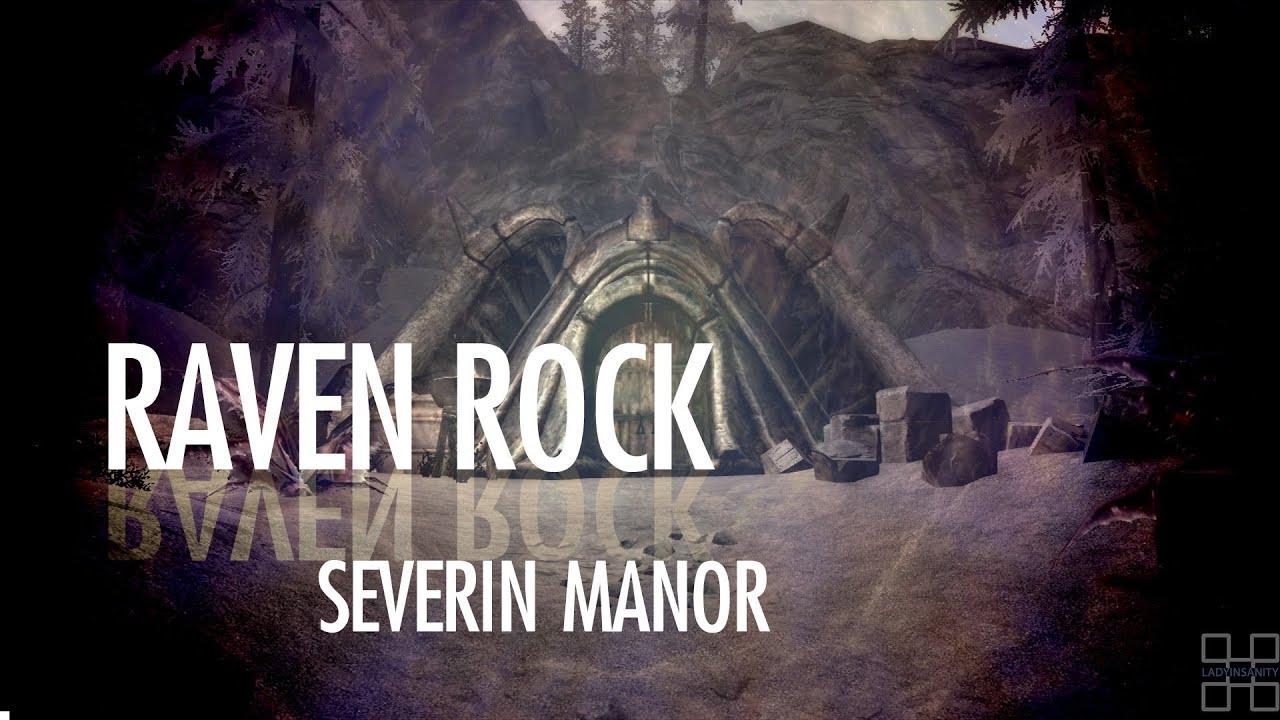 [skyrim] Raven Rock House (severin Manor)  Dragonborn Dlc, Spoilers