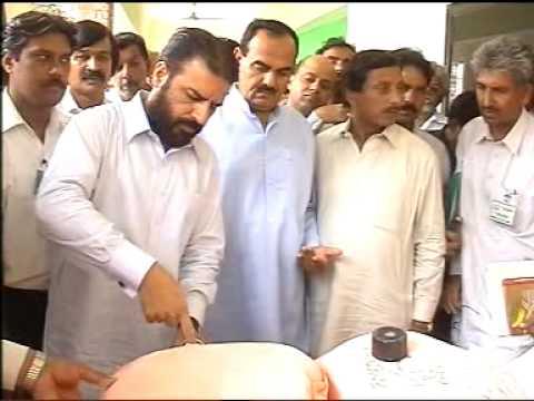 CM Task Force Chairman Samiullah Chaudhry inspecte...