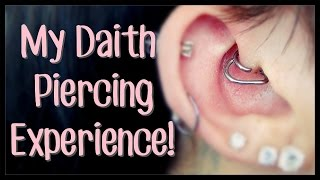 My (In-Depth) Daith Piercing Experience!