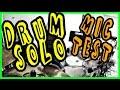 DRUM SOLO - MrSambuCity | testing his vintage drum mic
