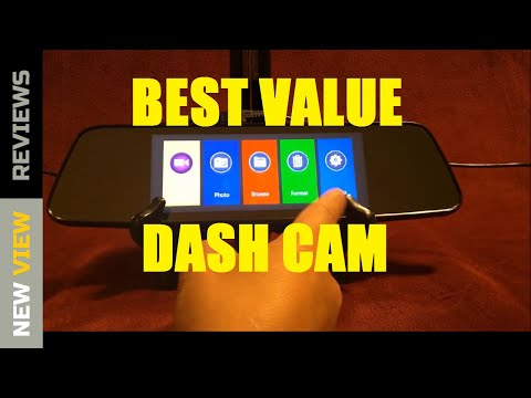 REVIEW: Pruveeo Dash Cam Mirror W/Rear View Camera