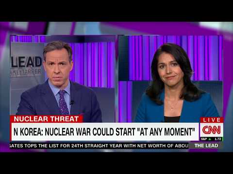 Tulsi Gabbard Interview on CNN with Jake Tapper on Niger, Iran, and North Korea