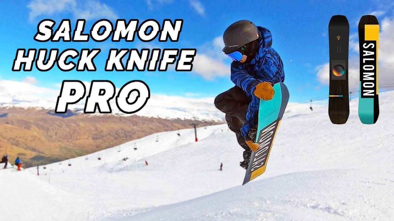 Salomon HUCK KNIFE PRO Snowboard Review 2020