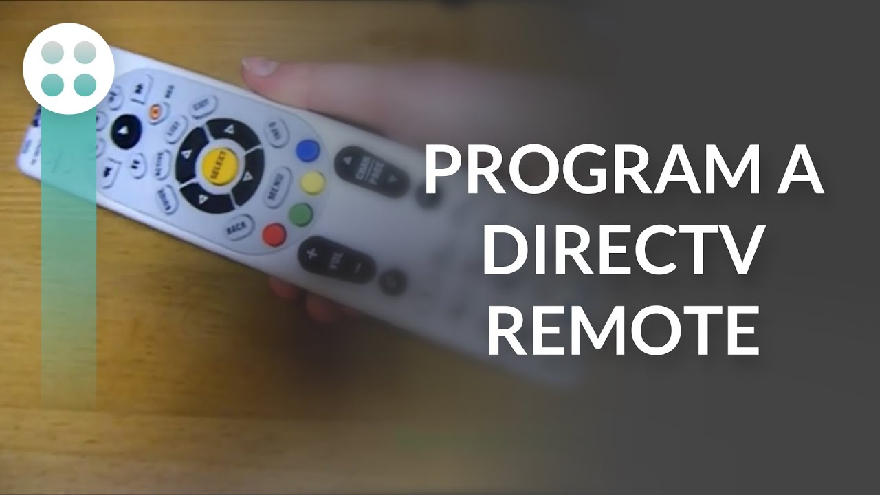how to program directv remote rc66x