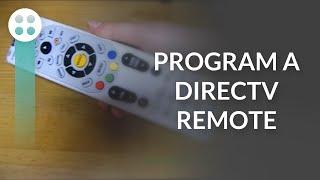 programming a directv remote