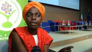 Intervista a Evelyn Nguleka, presidente della World Farmers' Organisation