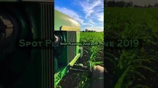 John Deere 4020 Spot Planting