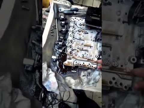 Разборка ЭБУ АКПП Jatco RE5R05A