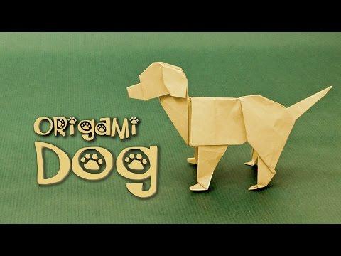 Origami Dog Tutorial: Labrador (Steven Casey)