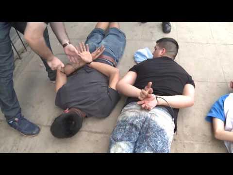 Allanamiento en Villa Radio Satélite