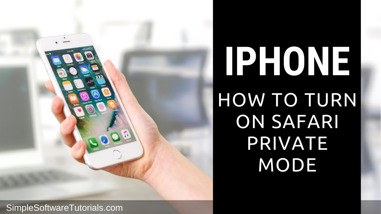 How To Turn On Safari Private Mode On Iphone Iphone 6 Youtube