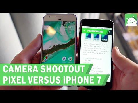 Google Pixel vs Apple  iPhone 7 camera shootout