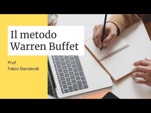 Il metodo Warren Buffet