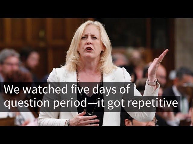 Liberal and Conservative MPs really stick to their talking points during question period. Part of the Star's Parliament in Check series.