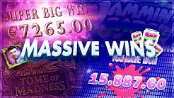 MASSIVE SLOT WINS!! ft. Jamming Jars