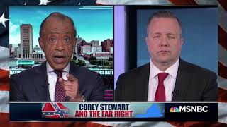 "Rev AL OWNS RAClST GOP Senate Candidate Corey Stewart, ""You HAD Your CHANCE and You Blew it"""