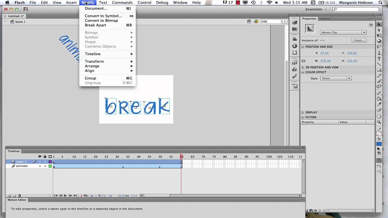 Animating text in flash cs6 youtube buycottarizona
