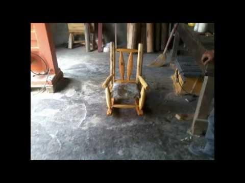Muebles rusticos de muzquiz youtube for Muebles sabino