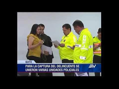 La Policía Nacional capturó al más buscado de provincia de Esmeraldas