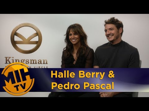 Halle Berry & Pedro Pascal Kingsman Golden Circle Interview