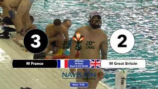 G264 - EM FRA vs. GBR - 20th CMAS Underwater Hockey World Championships -  English Commentary