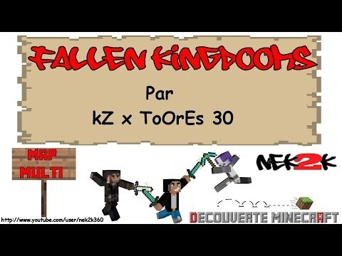 Découverte Minecraft - Map Pvp Fallen Kingdooms - Xbox 360