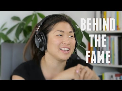 Jenna Ushkowitz from Glee Behind the Fame - with Lewis Howes ...