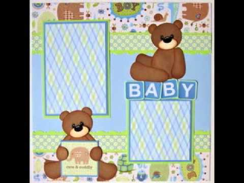 Scrapbook Baby Boy Ideas Scrapbook Ideas Baby Boy Layouts For