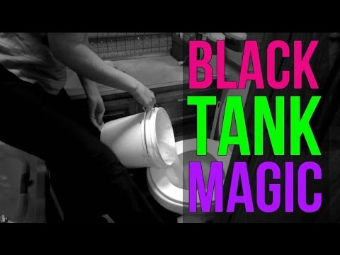 Black Tank Magic: Safe and Potent RV Cleaners for Healthy RV Living in a Motor Home. Part 1/2
