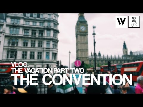 Vlog (8/9/16): Vacation Part II  - The Convention [in 4K]