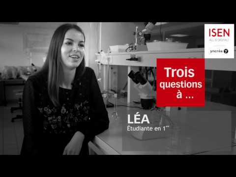 """Léa présente le BIOST : Cycle """"Biologie, Sciences et Technologies"""" de l'ISEN"""