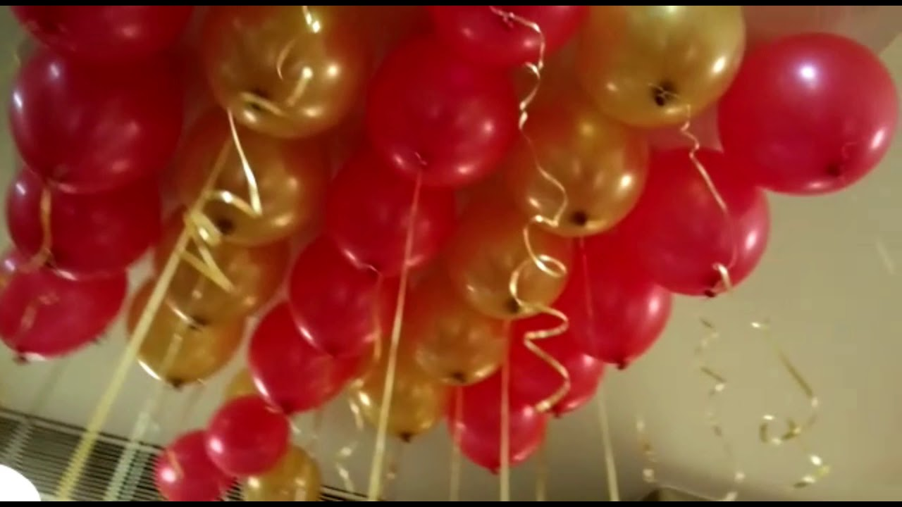 Surprise Birthday Party Decorations For Husband @ Hotel El