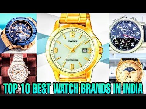 TOP 10 BEST WATCH BRANDS IN INDIA