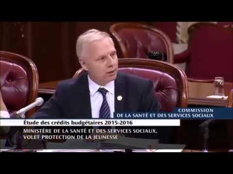 Trafic d'enfants du gouvernement du Québec