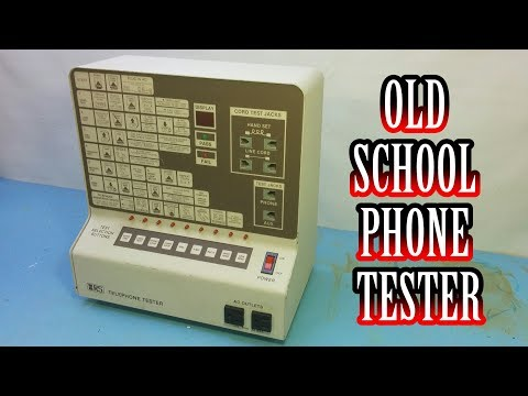 TWB #51 | Radio Shack Telephone Tester Demo and Teardown